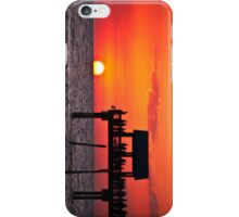 Sunset at Pier 60, Clearwater, FL iPhone Case/Skin