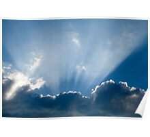 Heavenly rays Poster