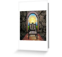The Chair In The Doorway Greeting Card