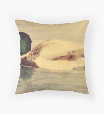 Mallard - Wall Art Throw Pillow