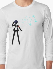 Persona 3 Protagonist: Shattered Long Sleeve T-Shirt