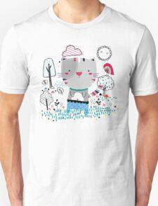 Cat in the Garden T-Shirt