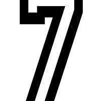 7, TEAM SPORTS, NUMBER 7, SEVENTH, SEVEN, Competition by TOM HILL - Designer