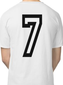 7, TEAM SPORTS, NUMBER 7, SEVENTH, SEVEN, Competition Classic T-Shirt