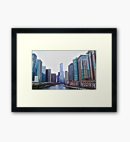 Chicago Downtown Framed Print