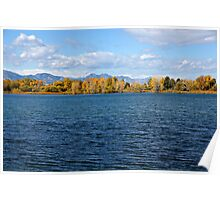Colorado Autumn Lake Poster