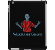 Funny White Walkers Thriller!  iPad Case/Skin