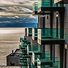 Glass, Concrete, Sea and Sky by David Bradbury