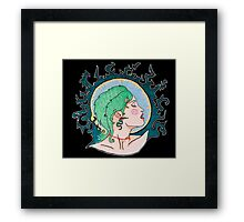 Modern Day Medusa Framed Print