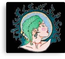 Modern Day Medusa Canvas Print