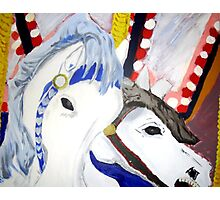 Carousel Horses - Wall Art Photographic Print