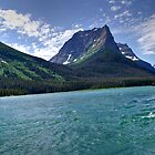 Glacier National Park St Mary&#x27;s Lake View by Michael Kirsh