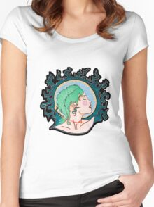 Modern Day Medusa Women's Fitted Scoop T-Shirt