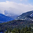 Rocky Mountain National Park Cloudy Peaks by Michael Kirsh