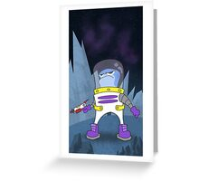 Space Adventurer Greeting Card