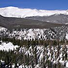 Rocky Mountain National Park Windswept Peaks by Michael Kirsh