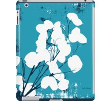 Money Plant Blue iPad Case/Skin