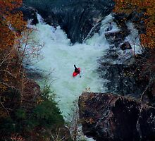 Kayak Tallulah Gorge by BerryvineImage