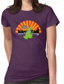 Reptar in da sity Womens Fitted T-Shirt