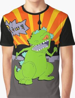 Reptar in da sity Graphic T-Shirt