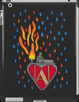 Set Fire To The Rain [ Iphone / Ipod / Ipad / Print ] by swelldame