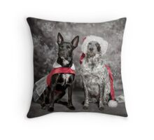 Ready For Christmas Ball Throw Pillow
