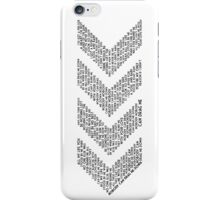 One Direction - Drag Me Down [Black] iPhone Case/Skin