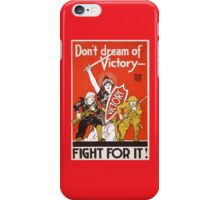 Fight For Victory iPhone Case/Skin