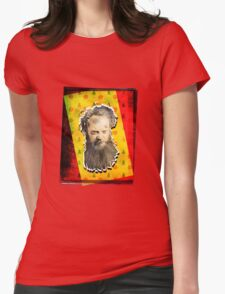 BAD SANTA CLAUS (FATHER CHRISTMAS) Womens Fitted T-Shirt