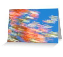 Desert Flower Impressionist No 3 Greeting Card