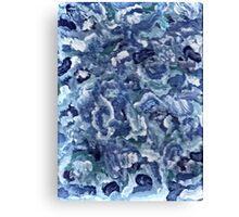 GOT THE GLITTER BLUES Canvas Print