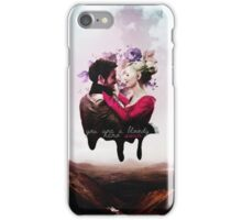 You're a bloody hero Swan iPhone Case/Skin