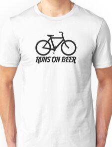 Runs on Beer Unisex T-Shirt