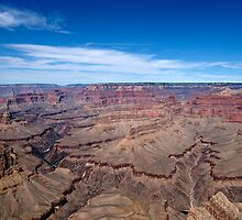 Grand Canyon Afternoon Blue Sky by Michael Kirsh