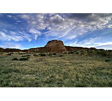 Pawnee Buttes Evening Sky Photographic Print