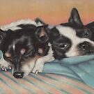 Snuggle Buddies by Pam Humbargar