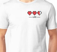 8bit life bar Unisex T-Shirt