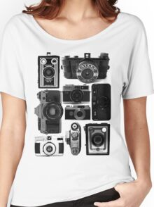 Retro Cameras Women's Relaxed Fit T-Shirt