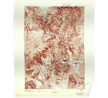 USGS TOPO Map New Hampshire NH Crawford Notch 329991 1895 62500 Poster