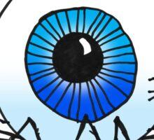 AN EEKY, CREEPY ORBSPIDER Sticker