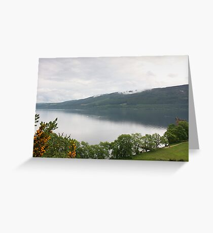 Loch Ness with Castle Greeting Card