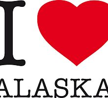 I ♥ ALASKA by eyesblau