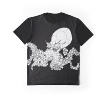 OCTOPUS - IN MONO, ON COLOUR Graphic T-Shirt