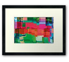 datamoshing 3 Framed Print