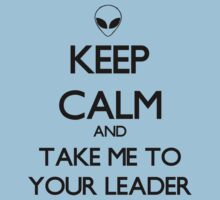 Keep Calm Alien Kids Tee