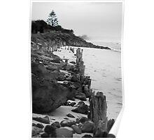lennox head seven mile beach_3 Poster