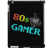 80s Gamer Joystick iPad Case/Skin