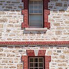 Dolls House Wall, Fremantle, Perth  by Jane McDougall