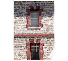Dolls House Wall, Fremantle, Perth  Poster