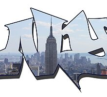 NY WordArt by quintinbell